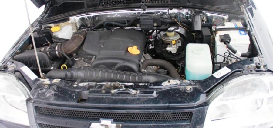 двигатель шевроле нивы