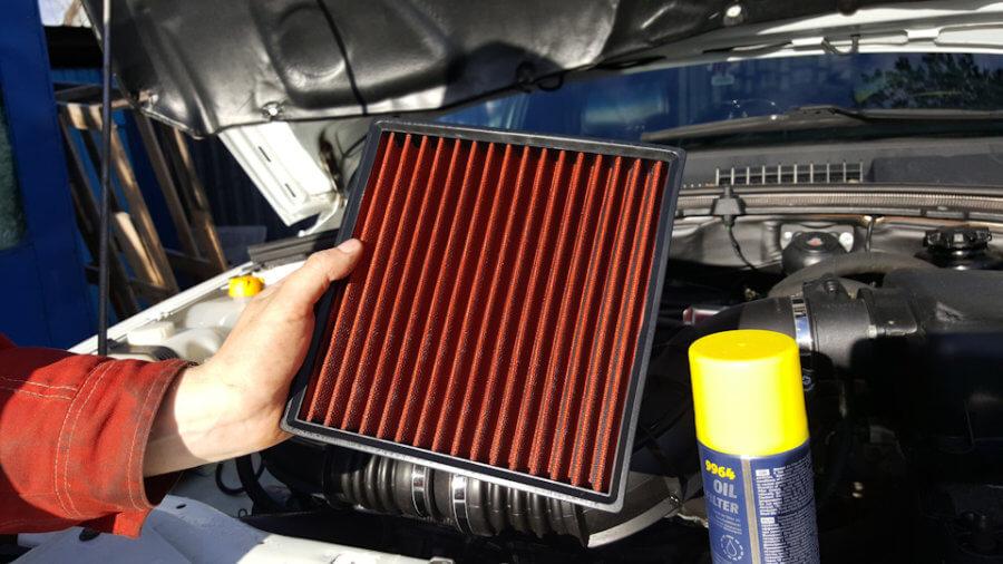 воздушный фильтр помогает экономить топливо нивы