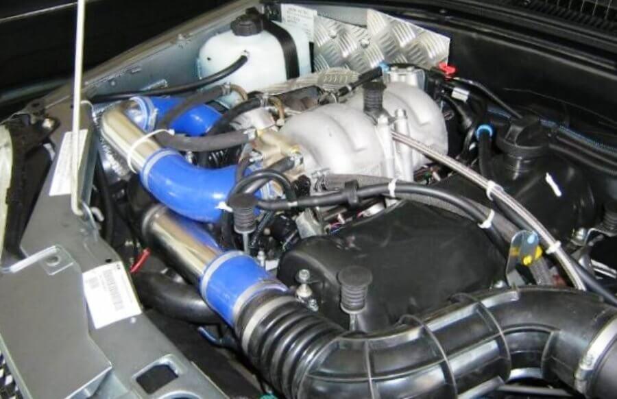 тюнингованный двигатель нивы