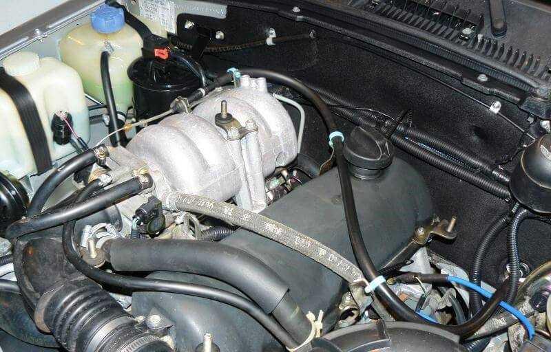 внешний вид двигателя нивы шевроле
