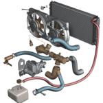 Устройство и ремонт вентиляторов системы охлаждения Нива Шевроле