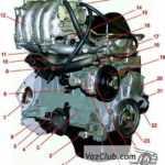 Устройство инжекторного двигателя Нива 2121, Нива 2131