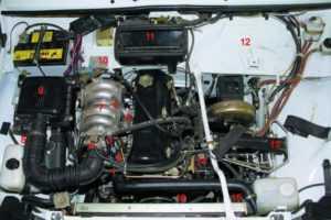 Система питания топливом инжекторного двигателя ВАЗ-21214 Нива