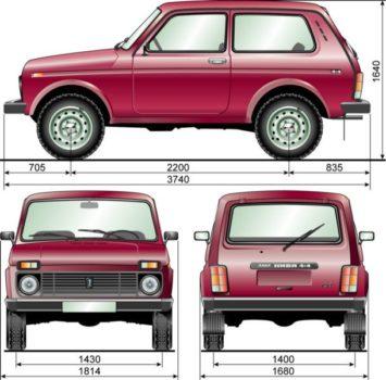 Технические характеристики ВАЗ 2121 (4x4) 21214 1.7 MT 4WD, 83 л.с. (2002-2020 гг. выпуска) - все об этом автомобиле на сайте
