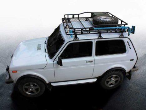 Багажники на крышу Нива 21214 купить в интернет магазине 👍
