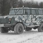 Люксовый вездеход на базе ГАЗ-66