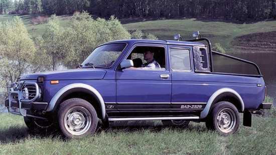 Нива Пикап ВАЗ-2329 lada 4x4 - обзор