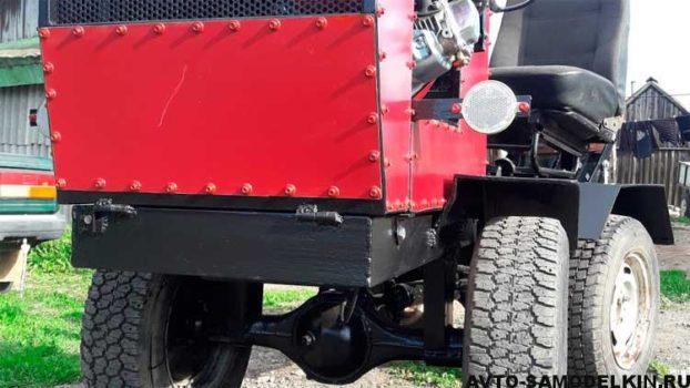 Самодельные мини-трактора 4х4 с ломающейся рамой: как сделать трактор переломку