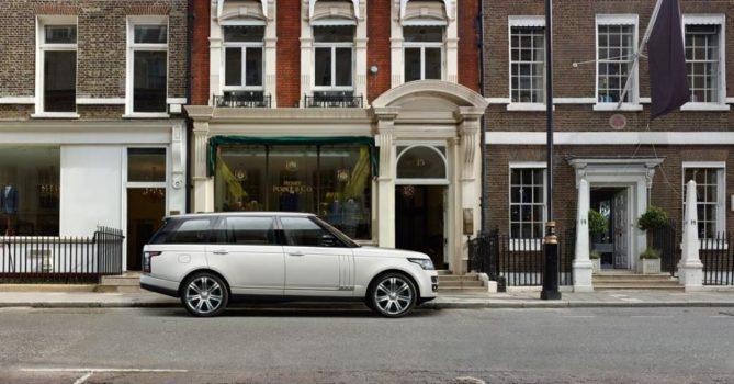 Land Rover Range Rover LWB - обзор, цены, видео, технические характеристики Ленд Ровер Рендж Ровер ЛВБ